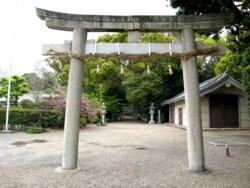 鴨神社の鳥居