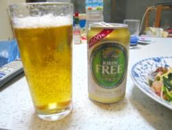 アルコール分 0.00% のビールテイスト飲料「キリンフリー」
