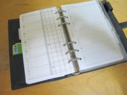 15 年間使っているシステム手帳