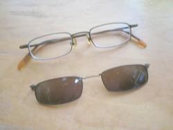 眼鏡とクリップオン
