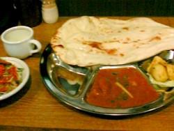 ネパールキッチンクマリの日替わりランチ