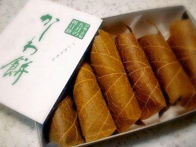 赤福の5月の朔日餅(かしわ餅)
